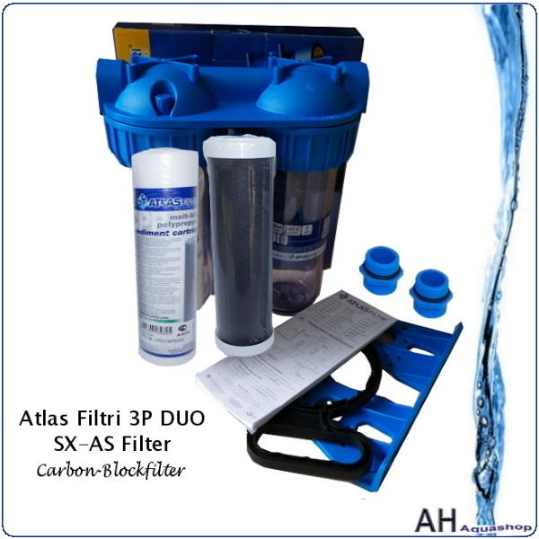 Atlas filtri carbon blockfilter 3p duo sx as modell 2018 for Atlas filtri anticalcare