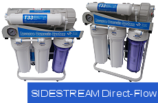 DIRECT-FLOW SIDESTREAM Osmosefilter